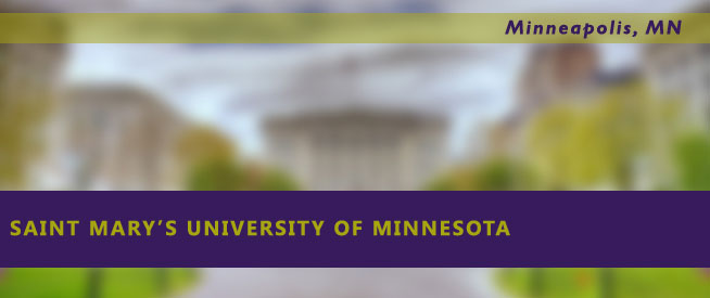 Saint mary 39 s university of minnesota nursing guide for 700 terrace heights winona mn